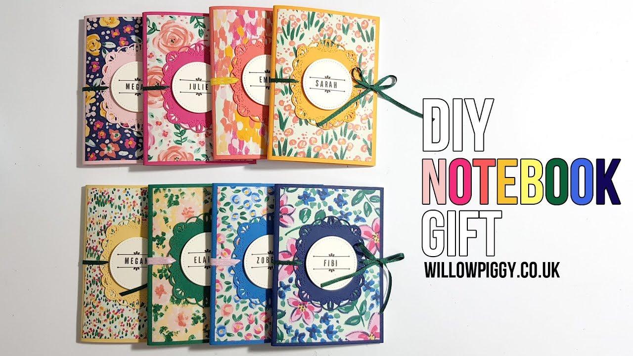 DIY Notebook| Teacher gift Ideas