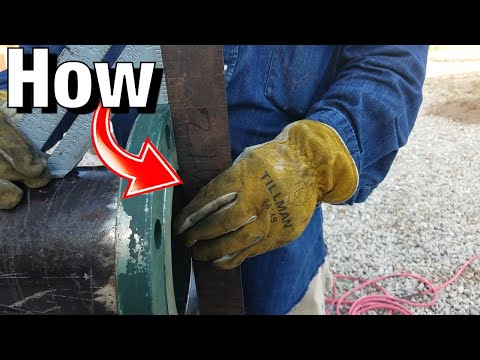 How To Fit and Weld Slip on Flanges!!