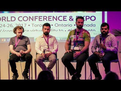 VR Toronto (VRTO) Panel: Immersive Web VR, feat Google, Microsoft, JanusVR