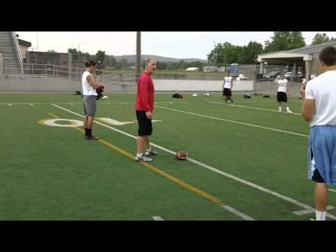 Chris Miller QB Camp 2013 Covered By Dirk Knudsen of Rivals.com