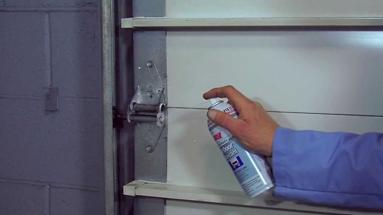 Blaster Garage Door Lubricant How To Use Youtube