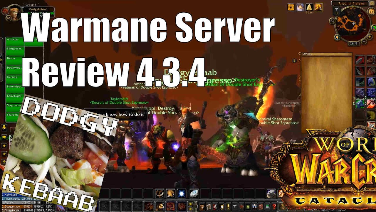 Warmane Private Cataclysm Warcraft Server Review - Neltharion 4 3 4