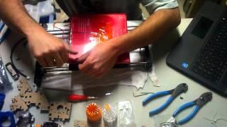 geeetech prusa i3 pro b 3d printer assembly video step 8