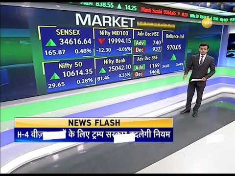 Sensex today: Nifty50 closes at 10,614, up 29.65 points; RIL investors richer by 4%