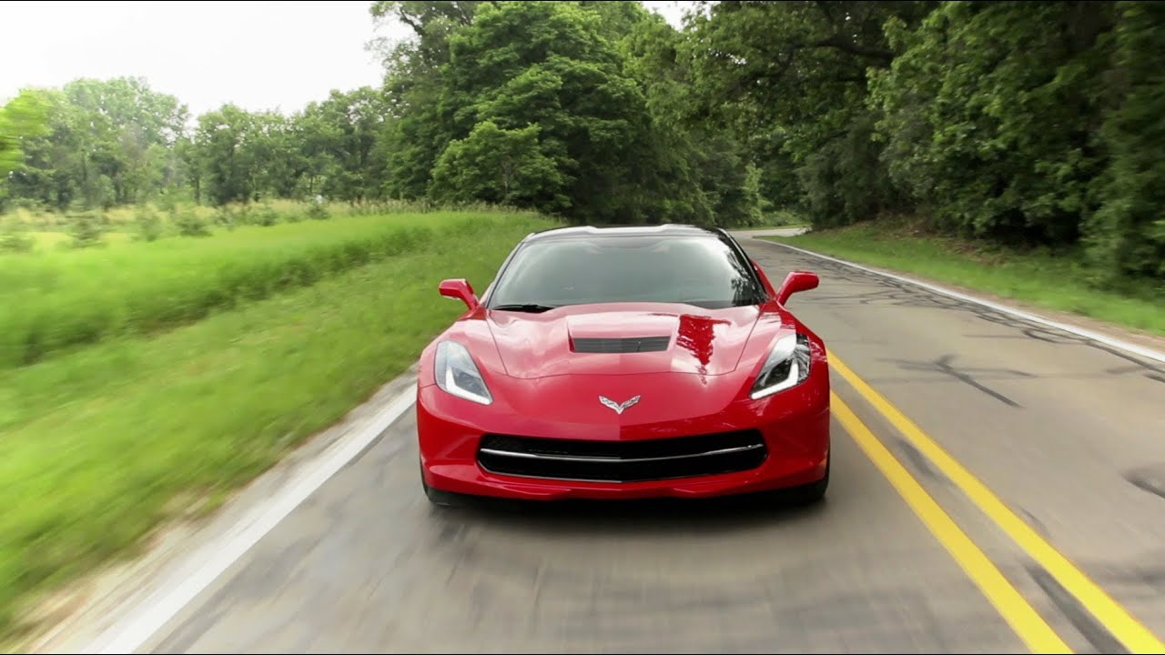 Chevrolet Corvette Stingray Z Road Test CAR And DRIVER - Cool cars driving