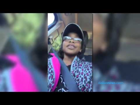 Marsai Martin sends shout out to The Dallas Morning News