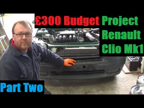 Part 2/4 - Budget Renault Clio Project - Rear Brakes, Headlamp