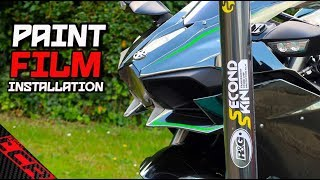 Protecting The H2 Paintwork  | DIY Stone Chip Film
