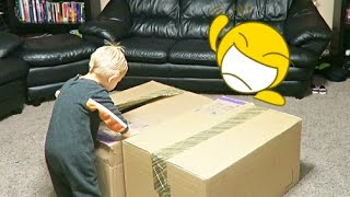 😮OPEN THOSE HUGE BOXES!!�