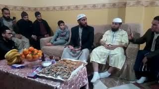 قبيل مغادرته الى  فلسطين...الداعية  محمود حسنات يجتمع بمحبيه في  البليدة