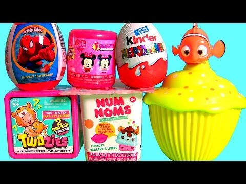 Toys Surprise Minnie Fashems Twozies Disney Princess Cupcake Surprise Swigglefish Ray 3-in-1 NumNoms