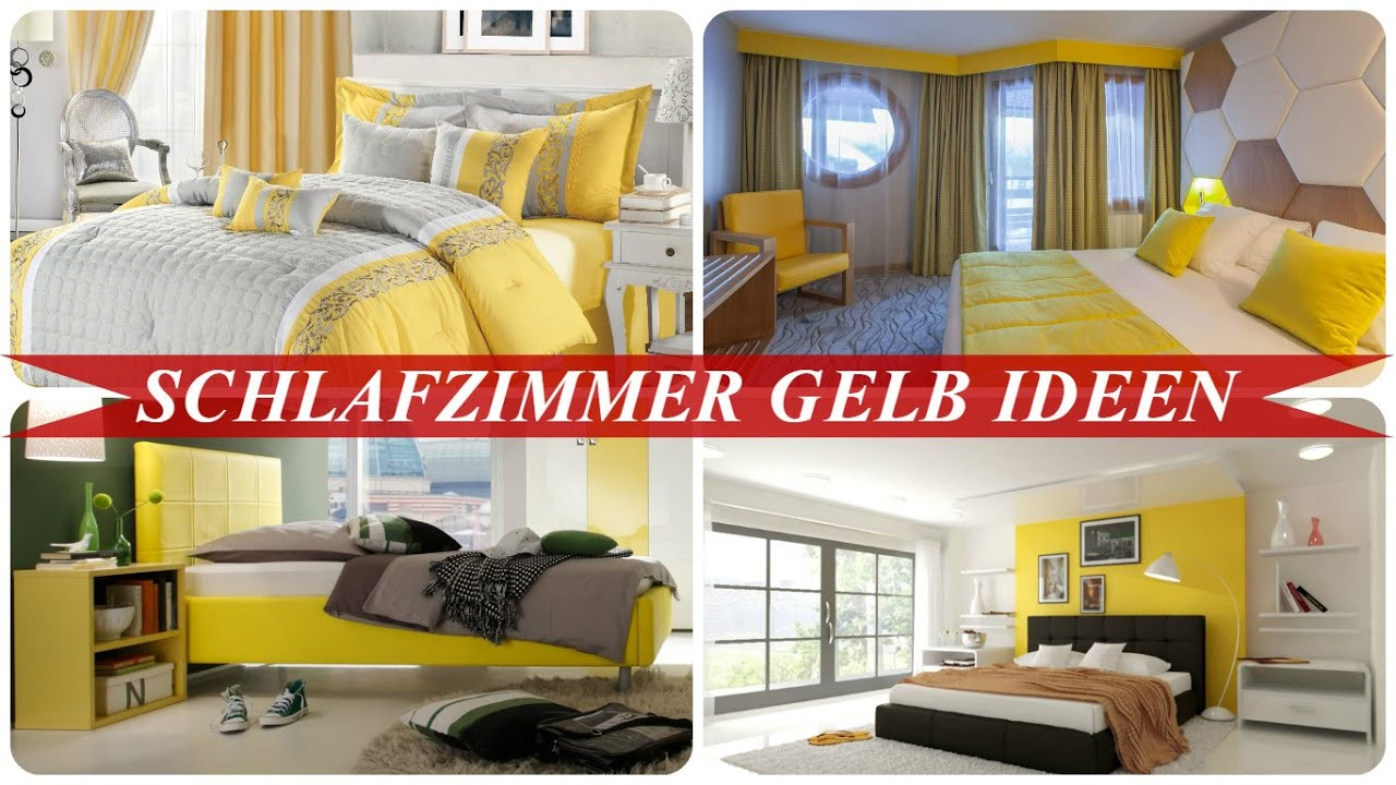 Schlafzimmer Gelb Ideen   YouTube