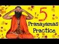 5 Pranayamas   You Should Practice daily   Baba Ramdev   Breathing Exercise   English Subtitle