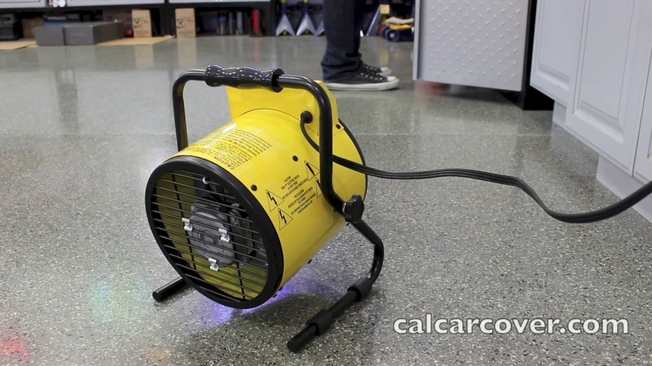 King Electric Garage Heater King Electrical Yellow Jacket Portable Mini Garage Heater Psh1215t