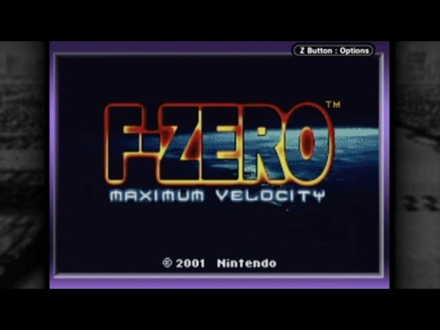 CGR Undertow - F-ZERO MAXIMUM VELOCITY review for Game Boy Advance