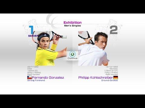 virtua-tennis-4-sega-fernando-gonzalez-vs-philipp-kohlschreiber-rafael-nadal-roger-federer