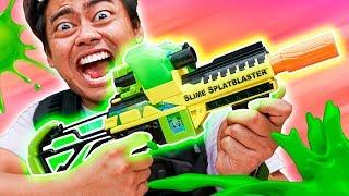 SLIME SPLATBLASTER WARS! -- Fortnite