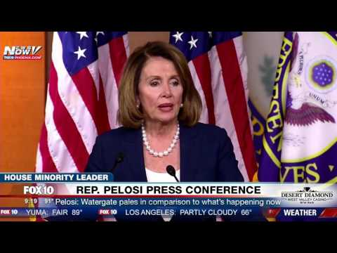 Pelosi MISTAKENLY Refers to Bush Instead of Trump When Talking About Trump\'s \