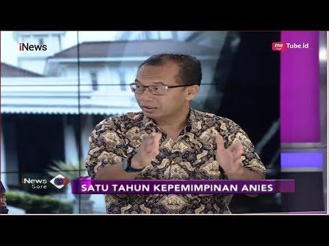 Satu Tahun Anies Baswedan, Pengamat Tata Kota Pertanyakan Janji dan Bukti - iNews Sore 16/10