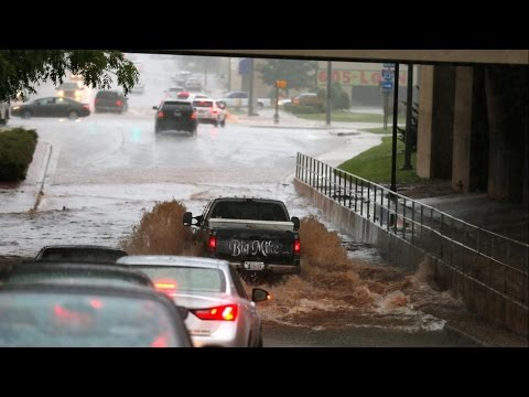Flooding and Weather damage across Houston, Austin, San Marcos, Oklahoma on Memorial Day May 2015