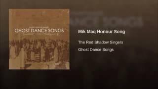 Gambar cover Red Shadow Singers Mik Maq Honour Song