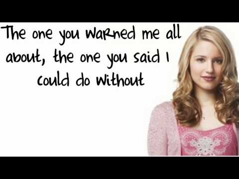 Glee Cast - Papa Don't Preach (Lyrics)