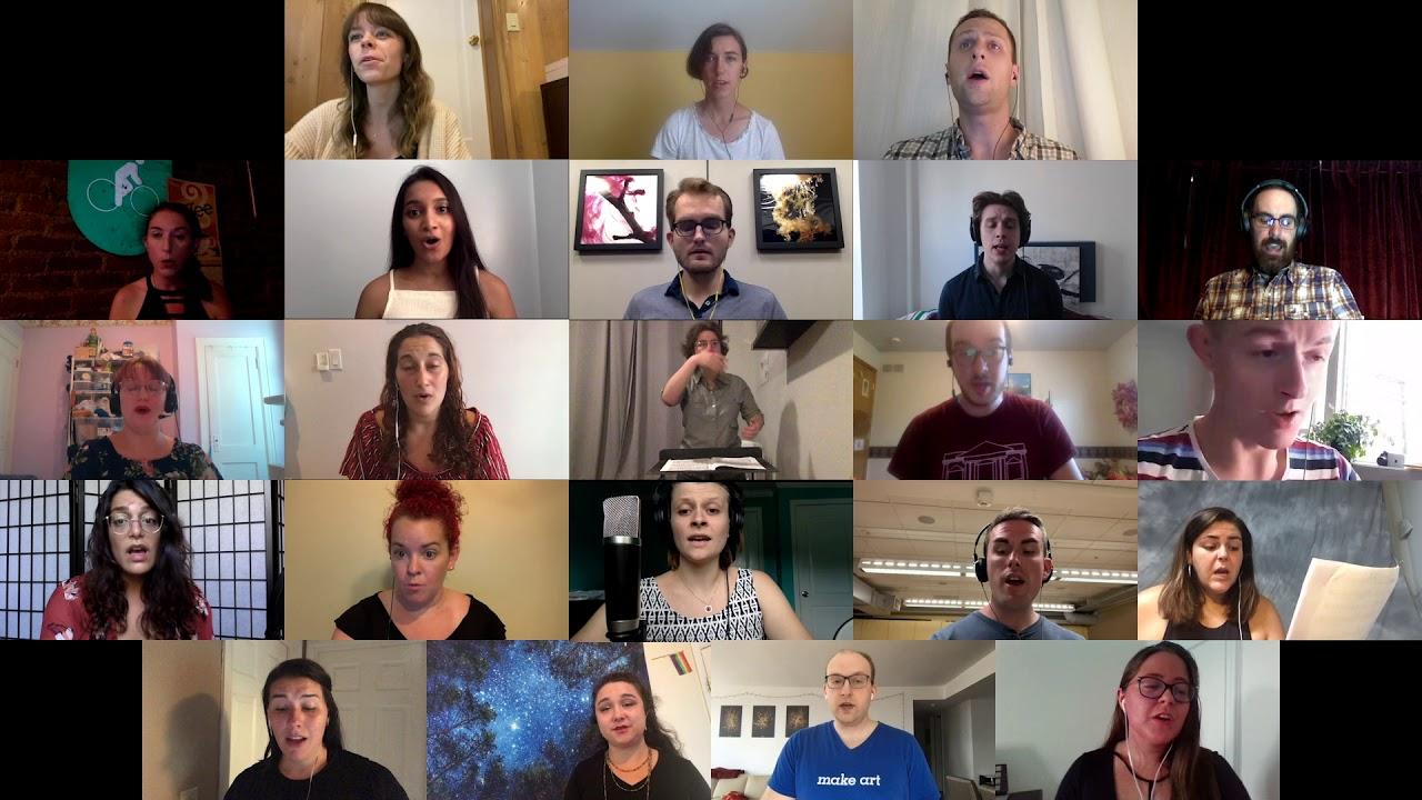 Ubi Caritas [Virtual Choir] | New York Chamber Choirs