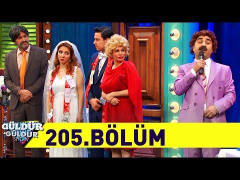 Güldür Güldür Show 205.Bölüm (Tek Parça Full HD)