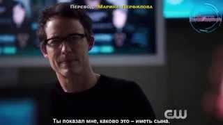 "|Rus Sub| Трейлер к эпизоду 1x15 ""Вне времени"" сериала ""Флэш"""