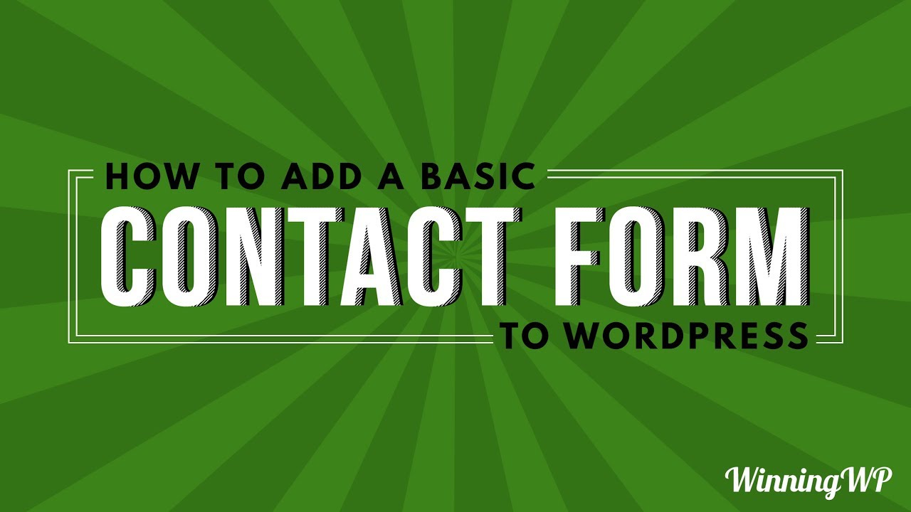 Caldera Forms – More Than Contact Forms – WordPress plugin