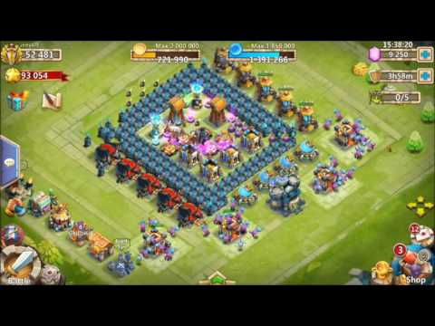 Rolling 26000 Gems For Santa BOOM Oneeee Timee Castle Clash