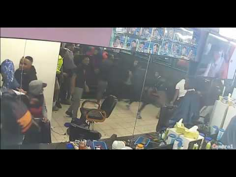 Violent Gang Attack Footscray Barber Shop