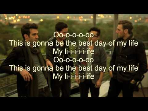 this is the best day of my life lyrics