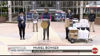 WATCH LIVE: D.C. mayor gives coronavirus update after issuing stay-at-home order - 3/31