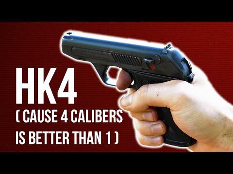 The HK4: H&K's First Pistol (Four Calibers, One Gun)