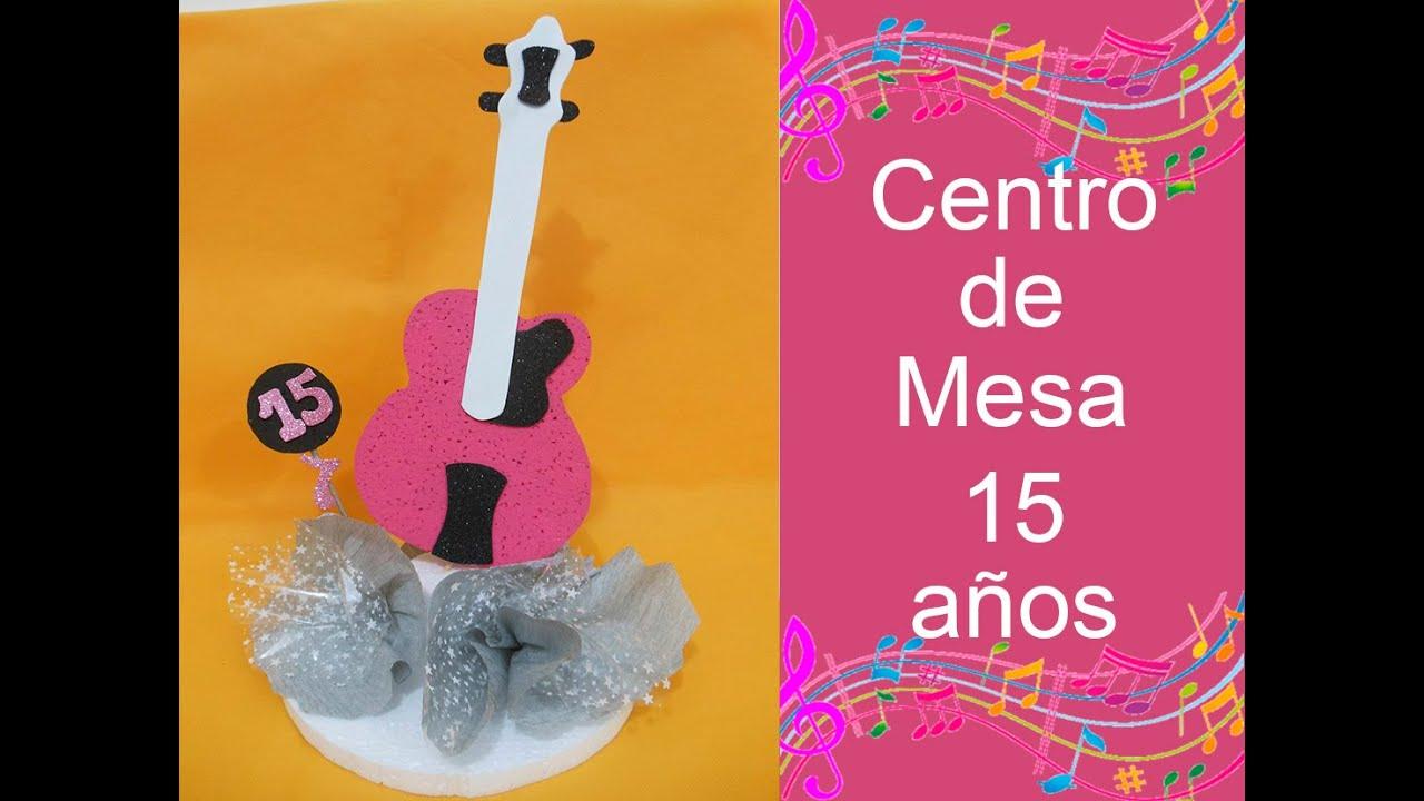 Centro de mesa para 15 a os centerpiece for 15 years - Centros de mesa para 15 anos ...