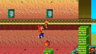 Crash Bandicoot 2 - N-Tranced Walkthrough Part 1 - Evil Crunch