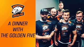 Virtus.pro in Katowice. A dinner with the Golden Five | CS:GO