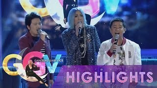 GGV: Vice Ganda sings as Regine with Ogie and Janno
