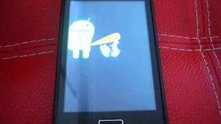 LEOLA: Boot animation androind peeing on apple