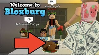 I PAYED $1000 FOR THIS TURKEY! VISITING A FANS CAFE   BLOXBURG   ROBLOX GAMING