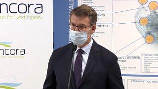 Feijóo señala que el nuevo proyecto en el sector de la automoción creará 900 empleos