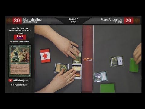 Mystery Chaos Draft 2015 - Round 2 - Matt Mealing Vs. Marc Anderson (1080p)