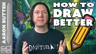 How to DRAW BETTER with 12 Tips - #DigitalArt ✍