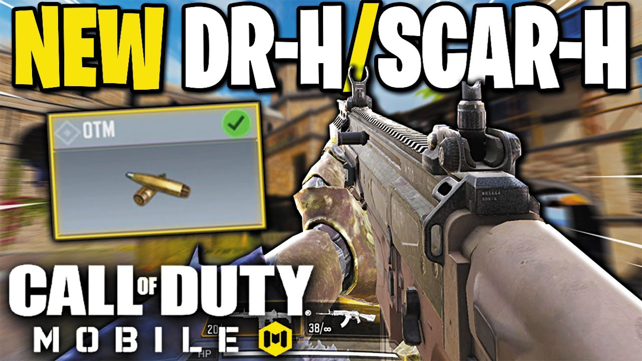 This Attachment Is Overpowered On The New Dr H Scar H In Call Of Duty Mobile Youtube