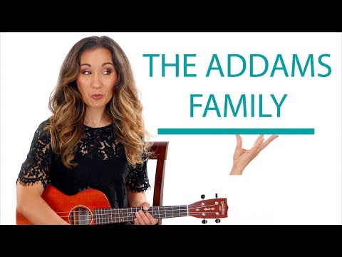 The Addams Family - Easy Ukulele Tutorial
