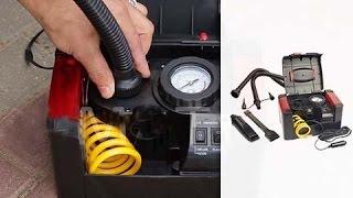 видео Мощный и компактный автомобильный компрессор Торнадо