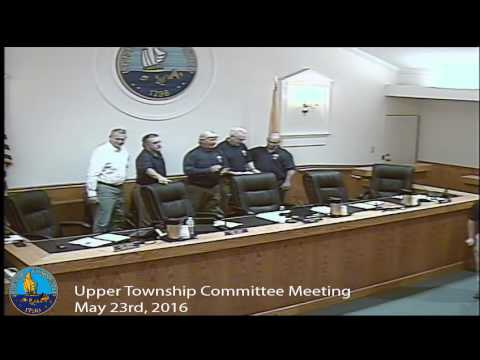 Upper Township Committee Meeting 5/23/16