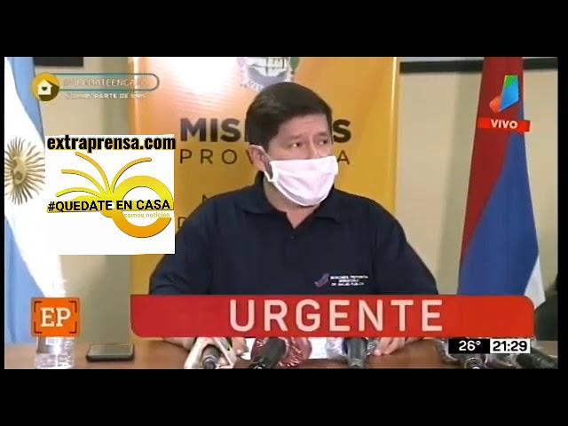 Ministro de Salud de Misiones Dr.Oscar Alarcón.