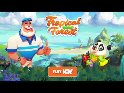 Tropical Forest: Match 3 Story 1